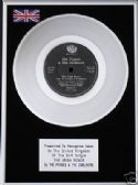"THE POGUES & DUBLINERS - 7"" Platinum Disc- IRISH ROVER"
